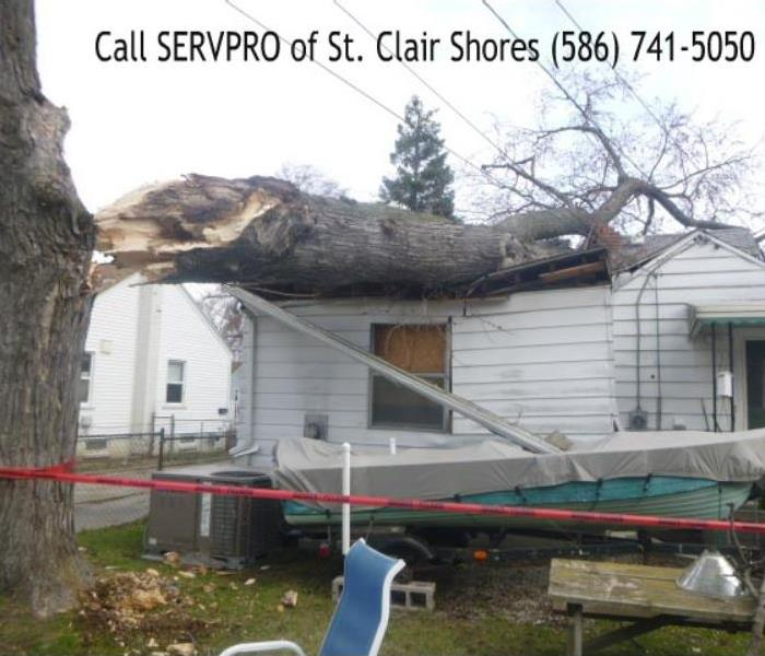 St. Clair Shores Storm Damage Before