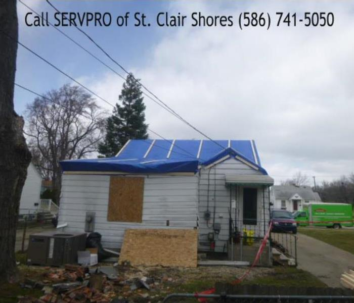 St. Clair Shores Storm Damage After