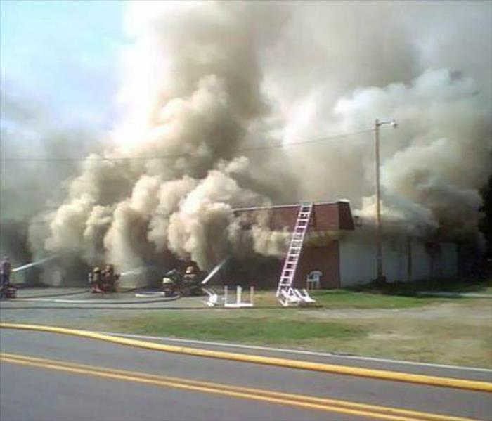 Repairing Your Commercial Property After A Fire Servpro