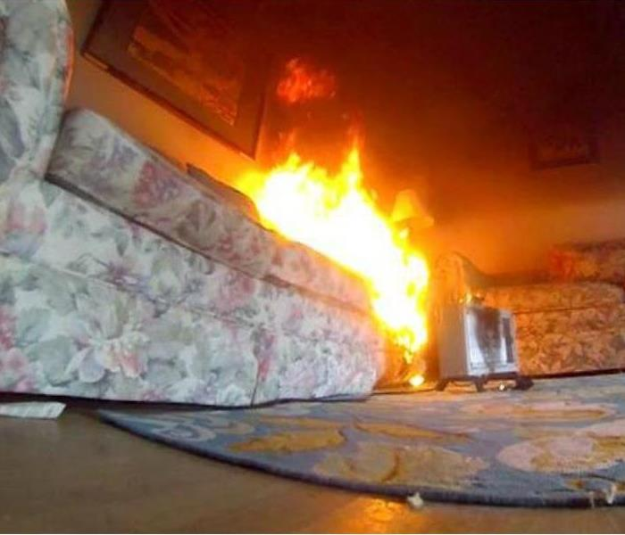 Fire Damage Space Heater Safety in Roseville, MI