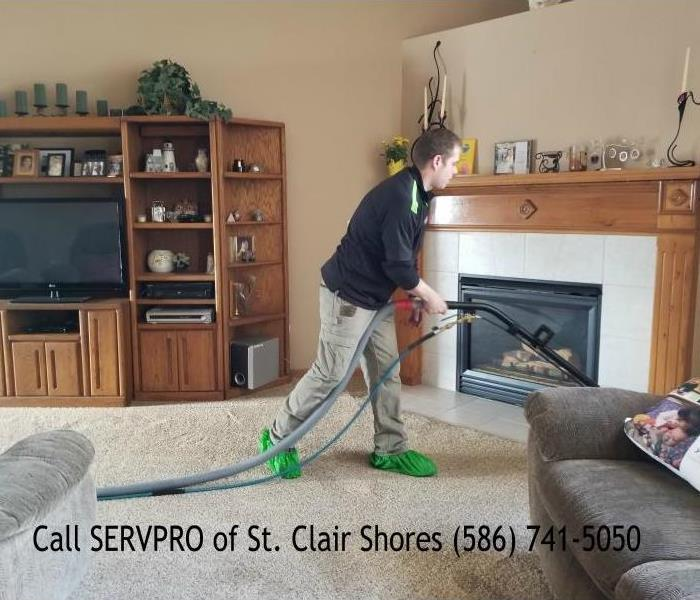 Cleaning Carpet Cleaning your St. Clair Shores Home