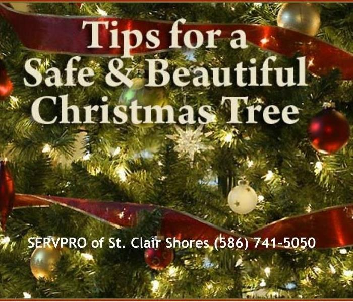Fire Damage Christmas Tree Safety Tips